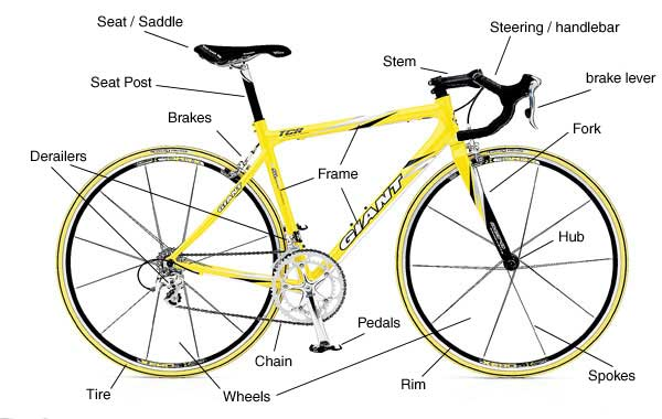 Bike Parts Online a bike parts diagram
